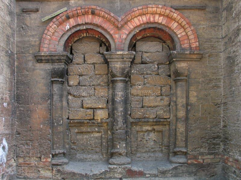 dämpad kyrka royaltyfri foto