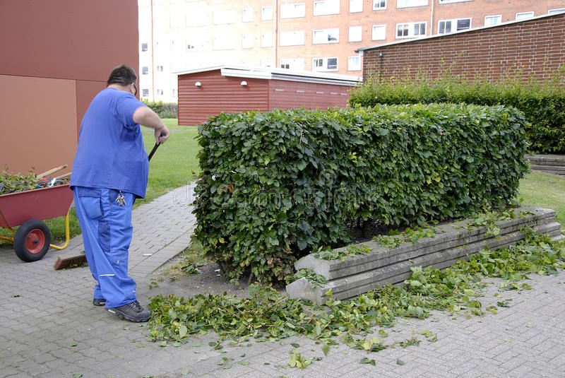 DÄNEMARK-GÄRTNER lizenzfreie stockfotografie