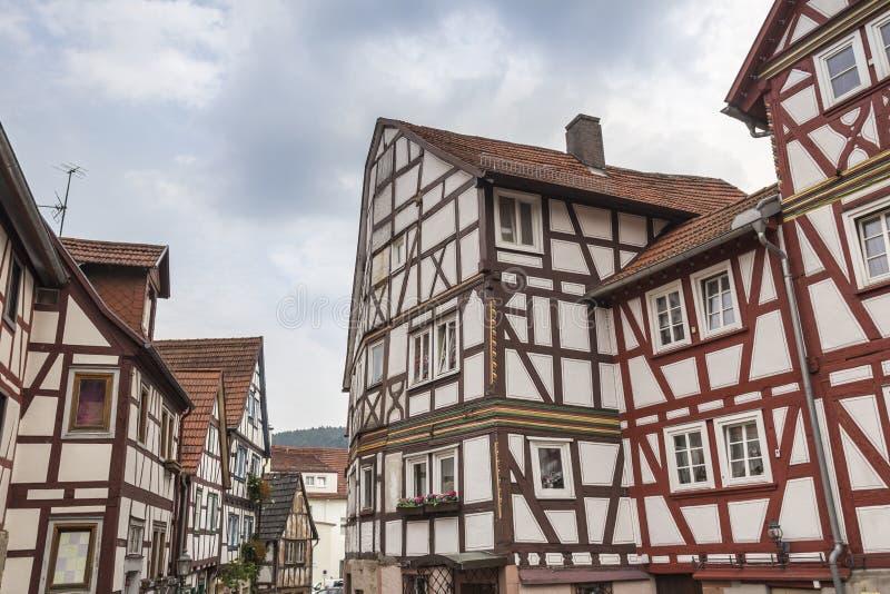 Dålig orb Tyskland för historisk stad arkivbilder