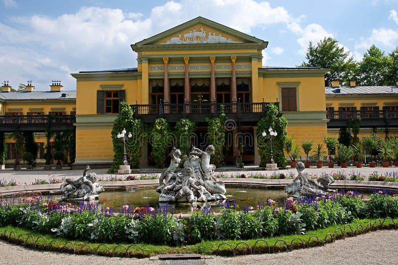 Dåliga Ischl, Österrike royaltyfria foton