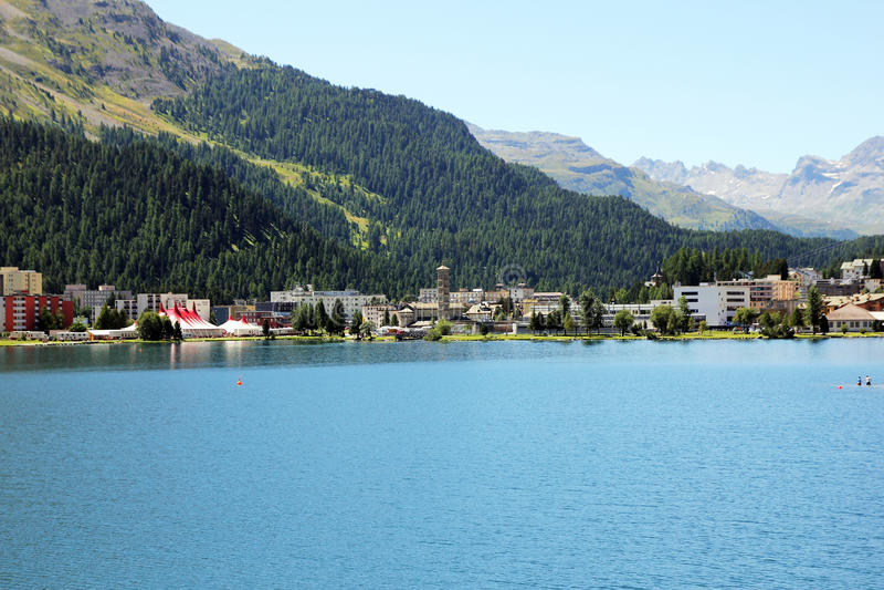 Dåliga St Moritz royaltyfri fotografi