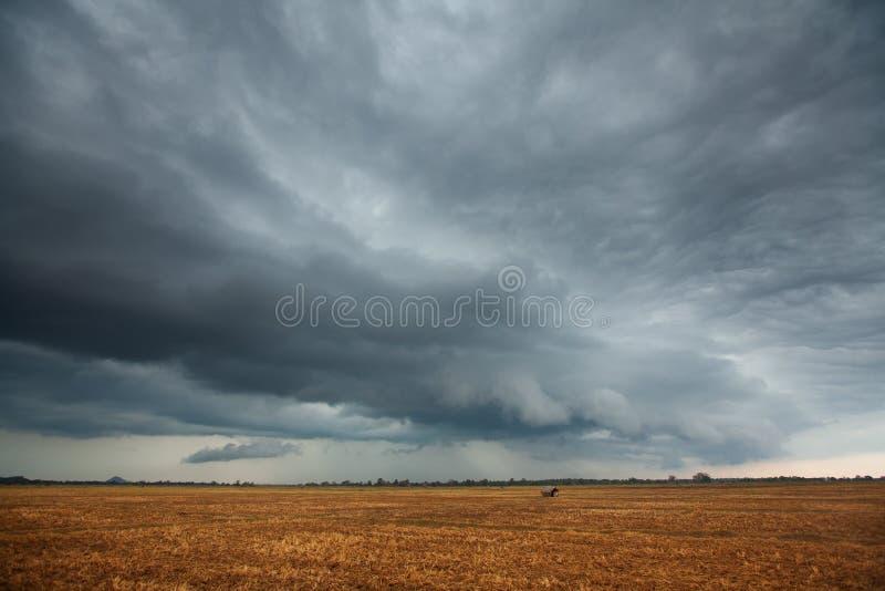 Dåligt väder arkivfoto