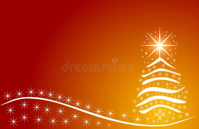 Dé a extracto exhausto del vector la Feliz Navidad y los nuevos ejemplos felices de la historieta del vintage del año ilustración del vector