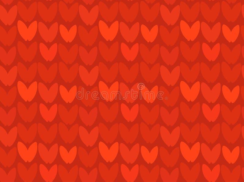 Dé a historieta exhausta del extracto del vector diseño inconsútil hecho punto rojo del modelo de los días de fiesta de la Feliz  libre illustration