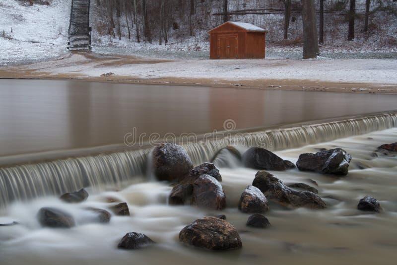 Débordement de lac Hinckley photographie stock