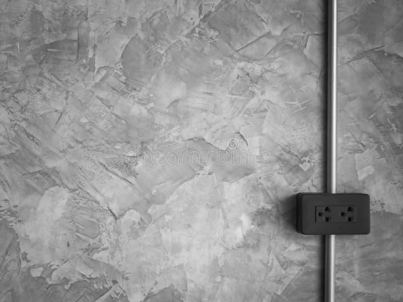 Débouché sur le mur de style de grenier images libres de droits