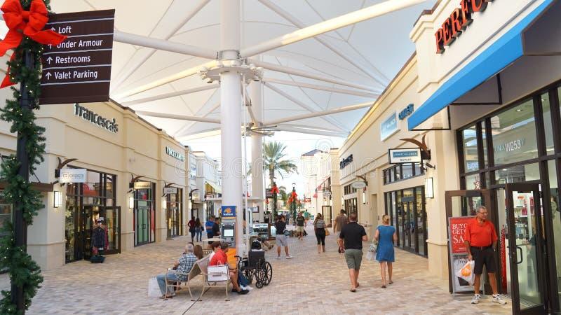 Débouchés de Palm Beach dans West Palm Beach, la Floride image libre de droits