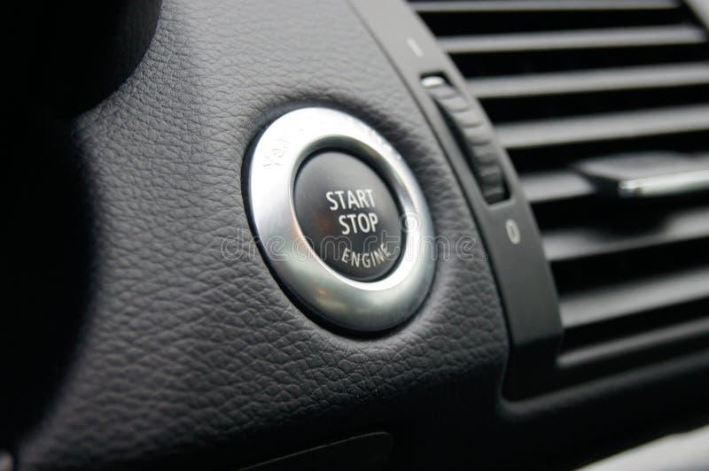 Début d'engine photo stock