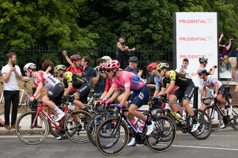 Début de la course classique de prudence de RideLondon-Surrey photo stock
