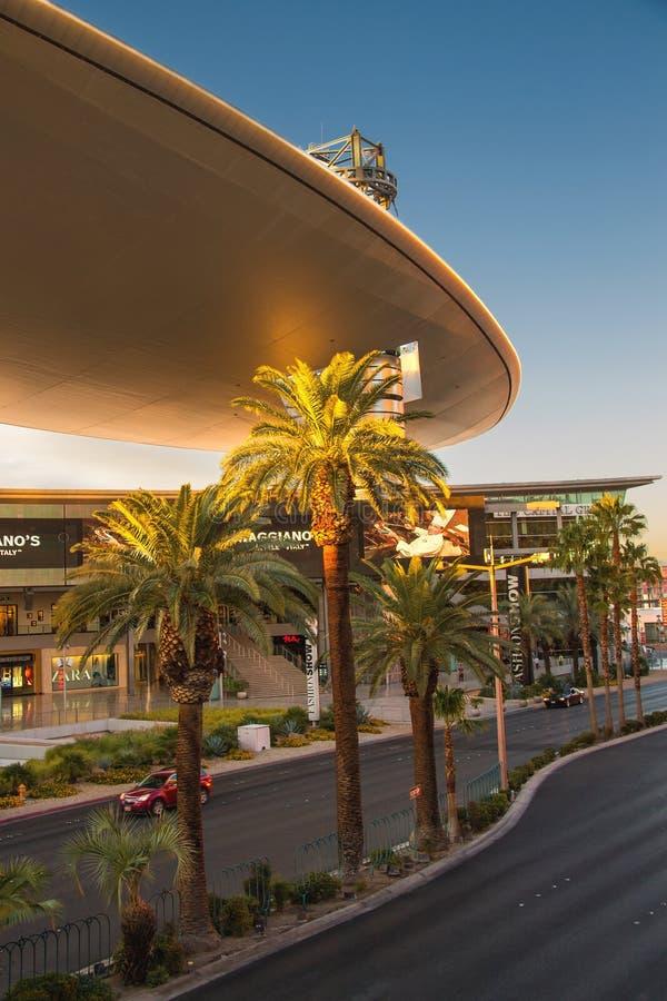 Début de la matinée de mail de défilé de mode à Las Vegas, Nevada images libres de droits