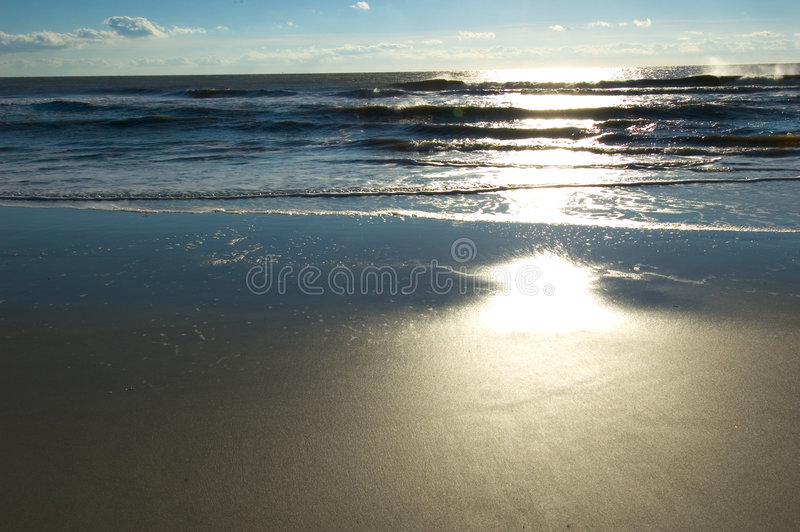 Début de la matinée sur Hilton Head Island photo stock
