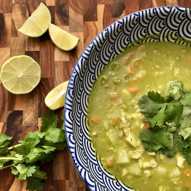 Début de la saison de soupe photos stock