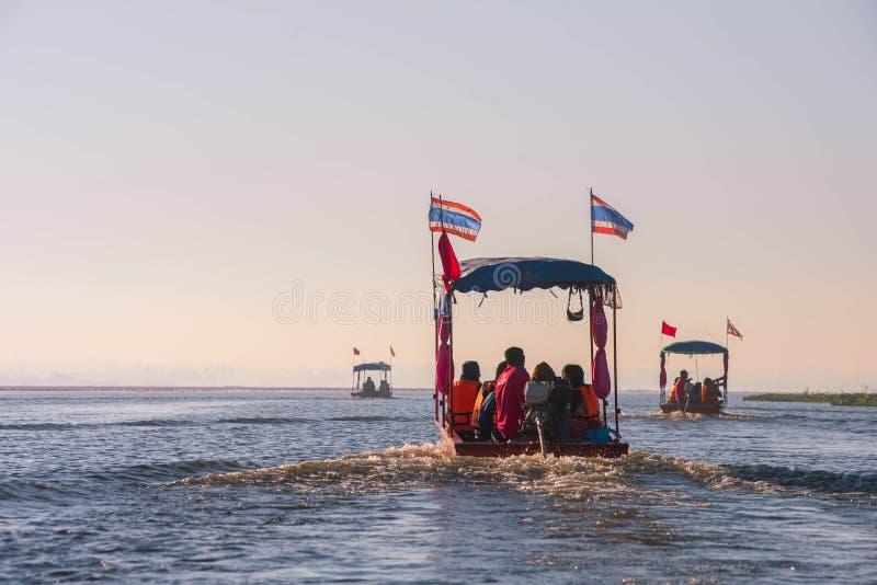 23 déc. 2017 , UdonThani Thailand Sur Le voyage , Voyage en bateau pour voir la belle nature images stock