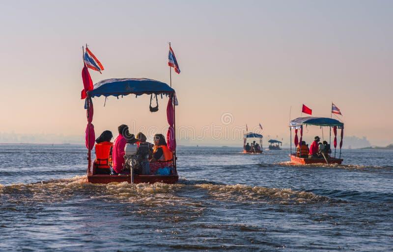 23 déc. 2017 , UdonThani Thailand Sur Le voyage , Voyage en bateau pour voir la belle nature photos stock