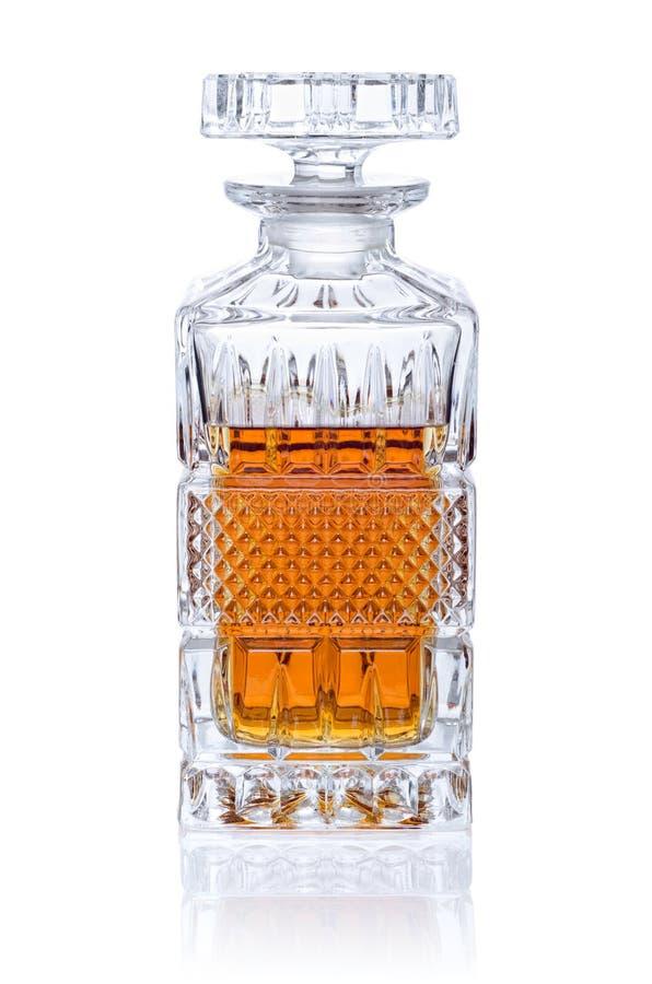 Décanteur de whiskey images libres de droits
