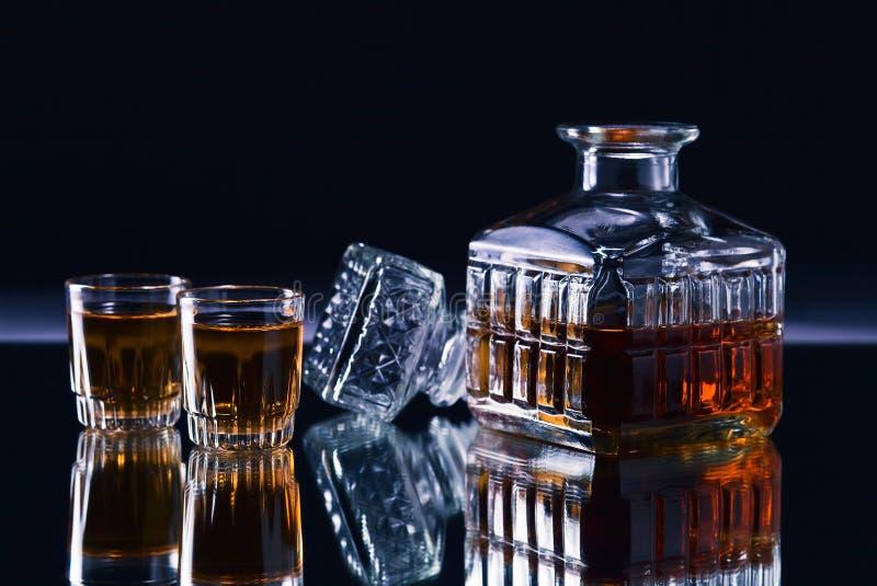 Décanteur de whiskey photo stock