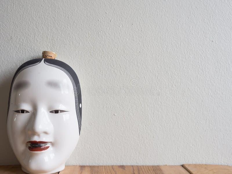 Décanteur du Japon fait en en céramique photos libres de droits