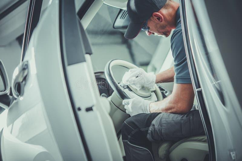 Décapant détaillant de voiture photographie stock libre de droits