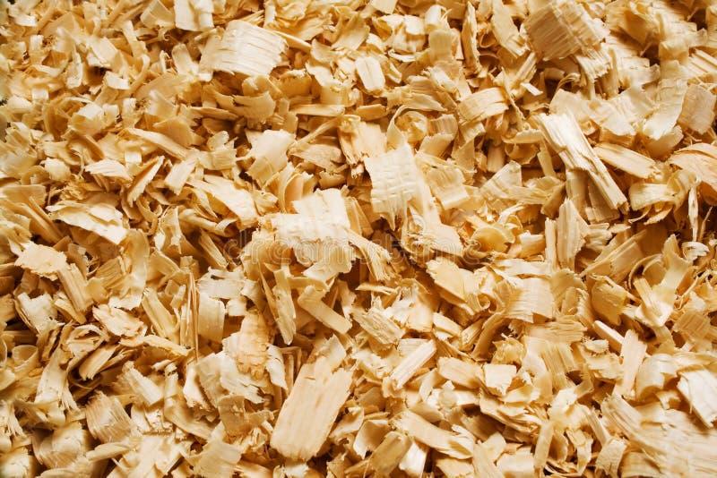 Déchets de bois photo stock