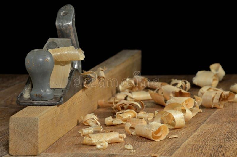 Déchets de bois photographie stock libre de droits