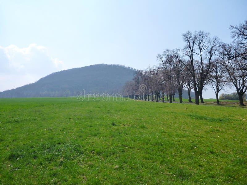 Déchirure nationale traditionnelle tchèque de montagne photo libre de droits