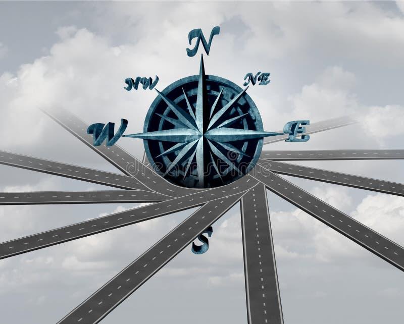 Download Décidez de la direction illustration stock. Illustration du différent - 77160750