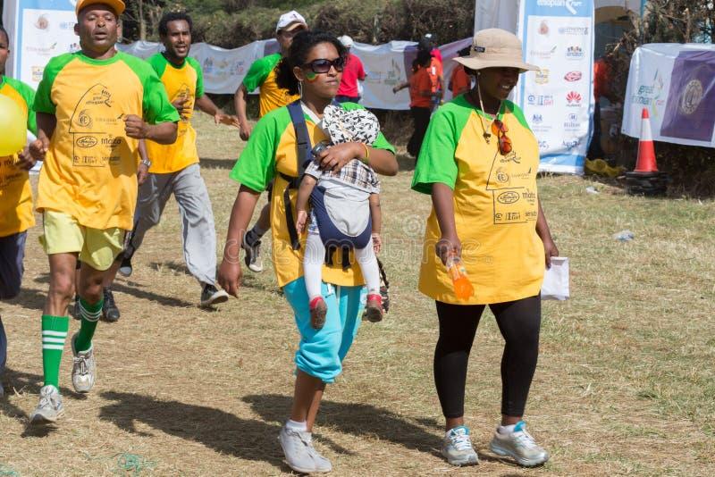 décimotercero edición del gran funcionamiento etíope imagen de archivo