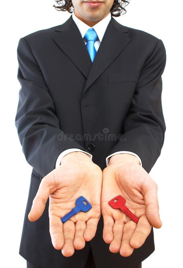 Décision économique image libre de droits