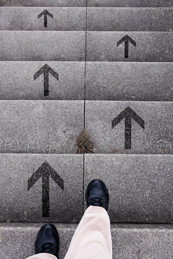 Décision - qui manière d'aller ? photo libre de droits