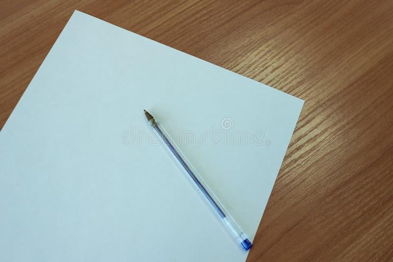 Déclaration écrite images stock