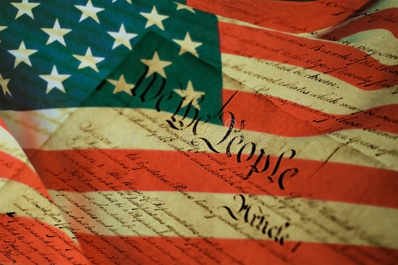 Déclaration d'indépendance des Etats-Unis image libre de droits