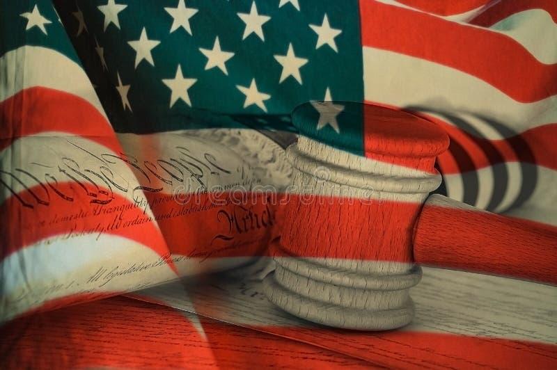 Déclaration d'indépendance des Etats-Unis image stock