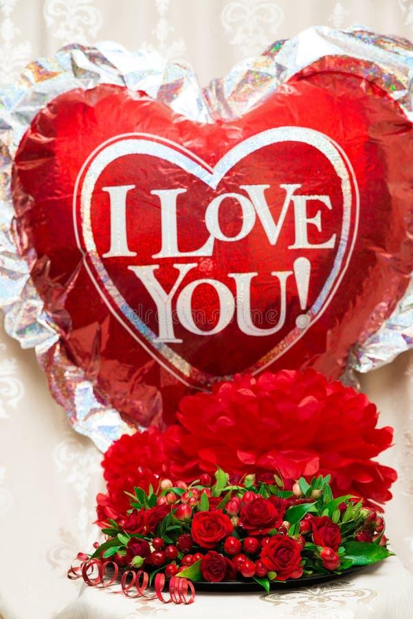 Déclaration de l'amour images libres de droits