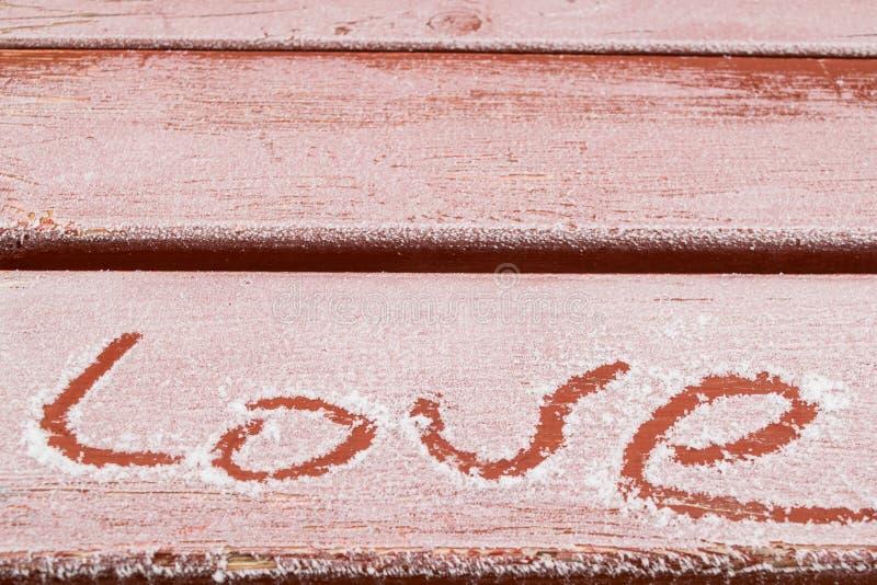 Déclarations de l'amour partout image libre de droits