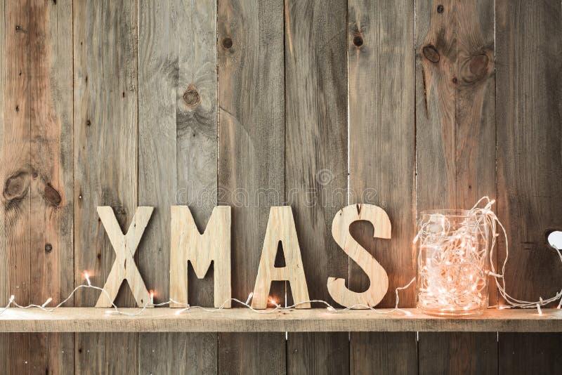 Décor à la maison de Noël photo stock