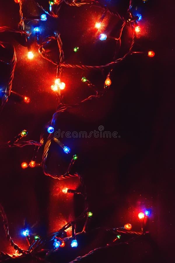 Décor d'ampoule Guirlande avec images stock