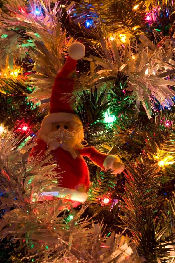 Décor d'arbre de Noël photographie stock libre de droits