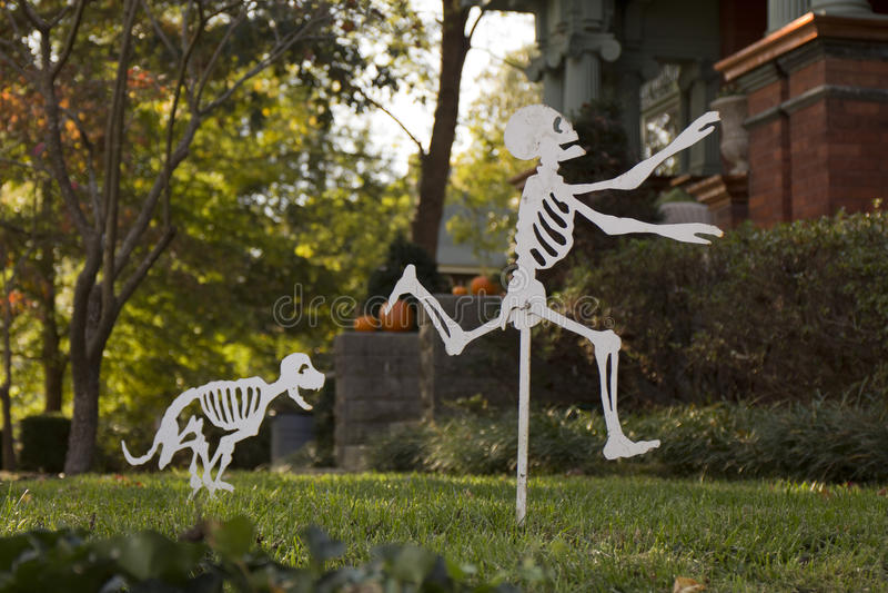 Décor de Halloween image libre de droits
