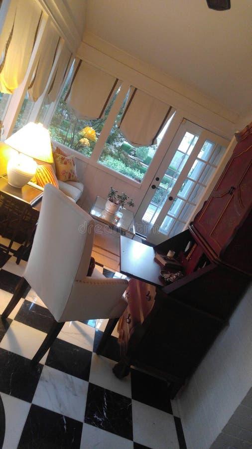 Décor de siège social pour la maison à extrémité élevé photo stock