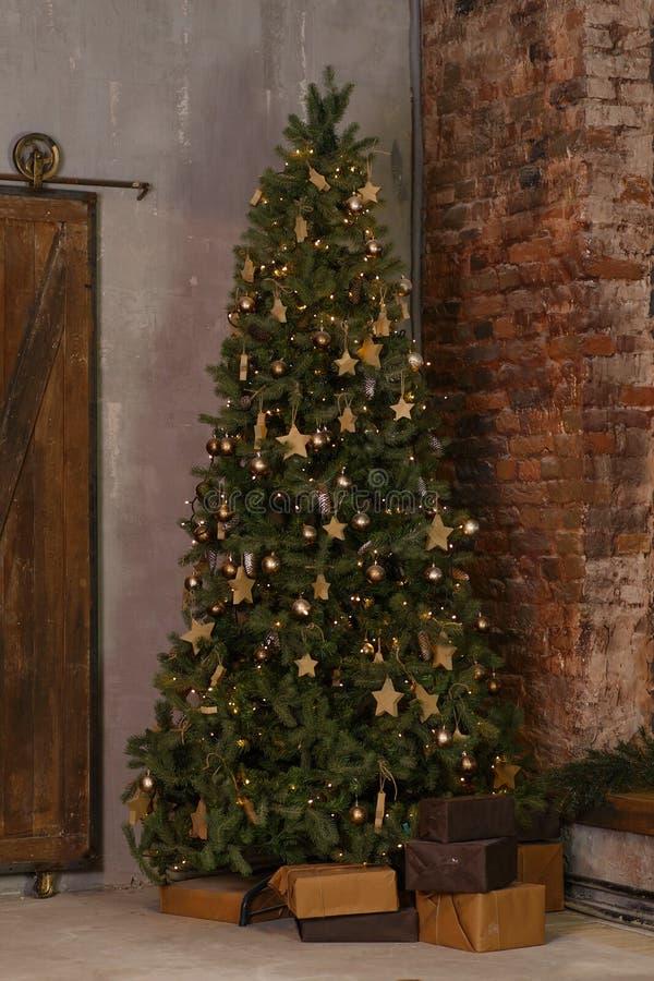 Décor de vacances de Noël photographie stock libre de droits