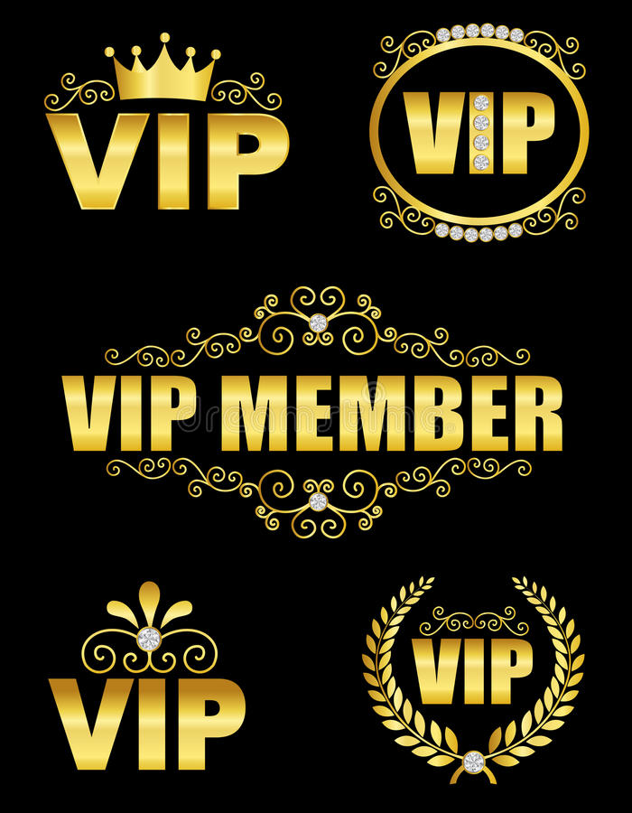 Décor de VIP illustration libre de droits