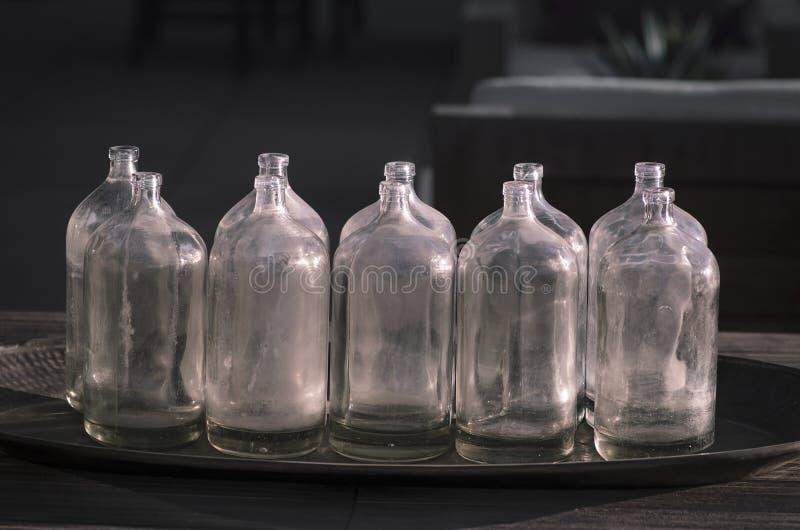Décor en verre de style de vintage images libres de droits