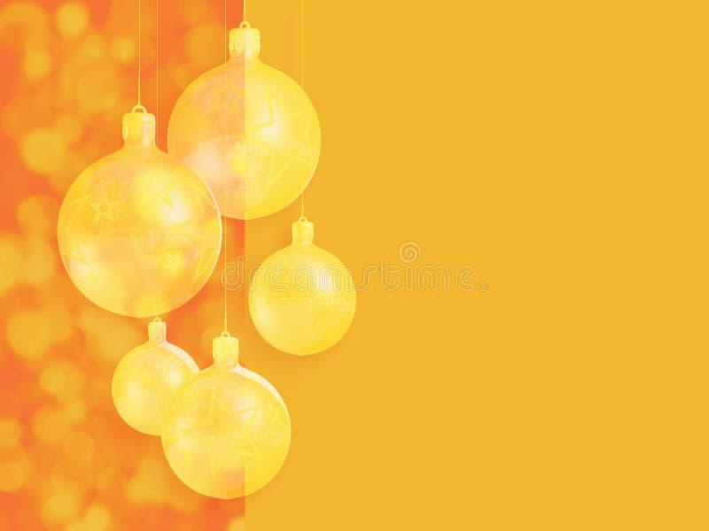 Décor rouge chaud dénommé moderne de Noël. photographie stock