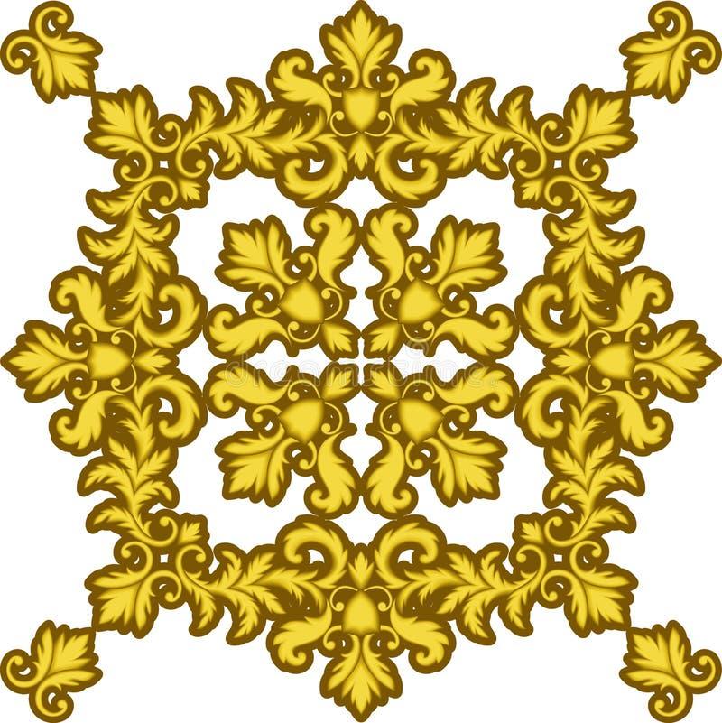 or décoratif de trame illustration de vecteur