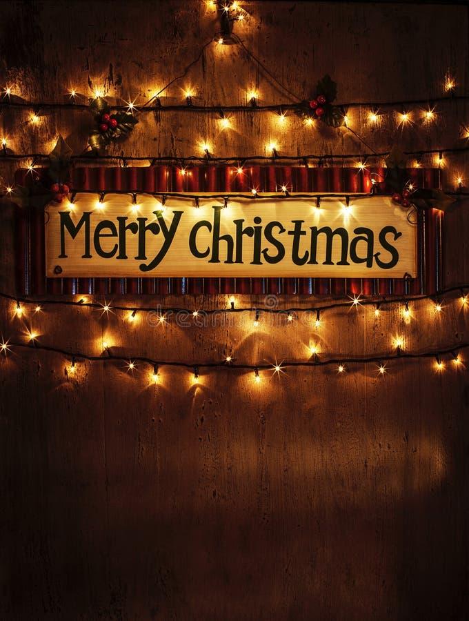 Décoration à la maison de Noël photographie stock libre de droits