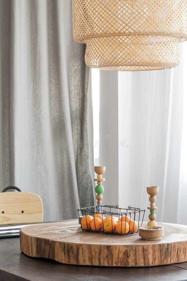Décoration à la maison en bois image libre de droits