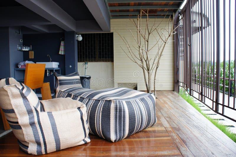 Décoration à la maison extérieure image stock
