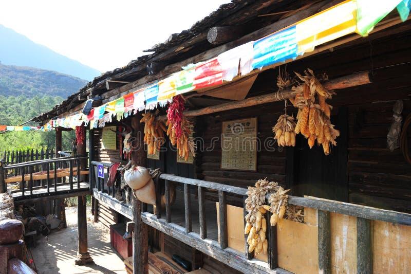 Décoration à la maison, village de minorité ethnique photographie stock libre de droits