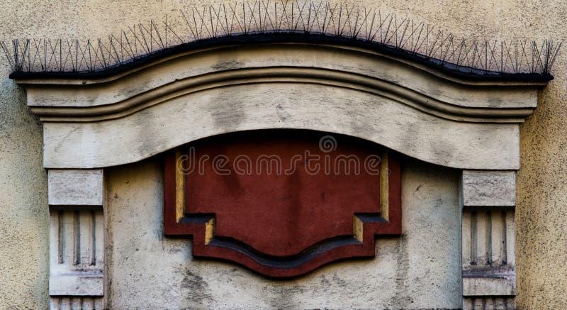 Décoration architectonique photo libre de droits