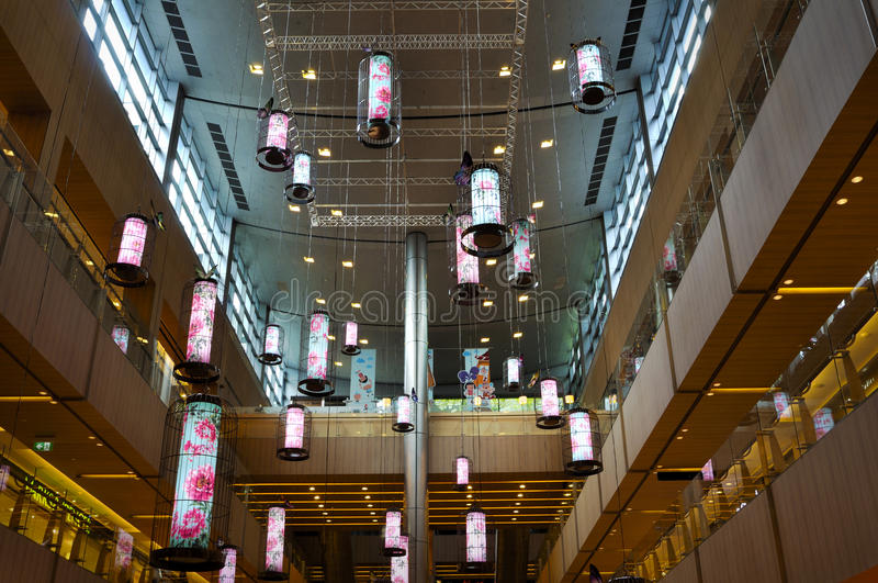 Décoration chinoise de nouvelle année images stock